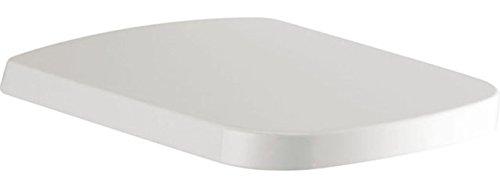 Ideal Standard J469701 WC-Sitz SIMPLYU Mia mit Softclosing aus Kunststoff, mit Deckel, Scharnnier aus Edelstahl, weiß