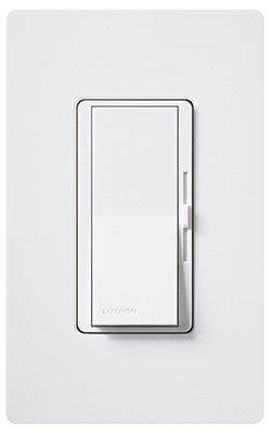 LUTRON Electronics DVW-603PH-WH Diva 600-Watt 3-Way Dimmer, White - Quantity 6