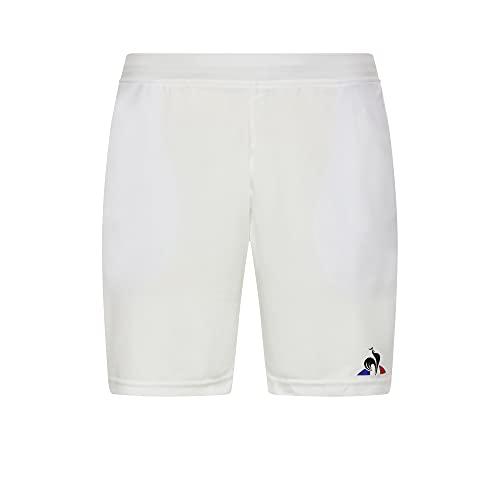 Le Coq Sportif Herren Tennis Short N°2 M Kurze Hose, New Optical White, XXXL