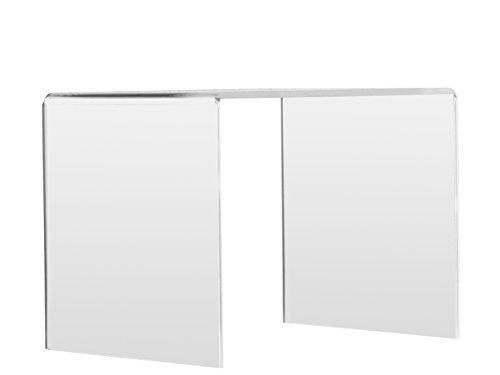 Manfredini Tavolino, plexiglass, Multicolore, Taglia Unica