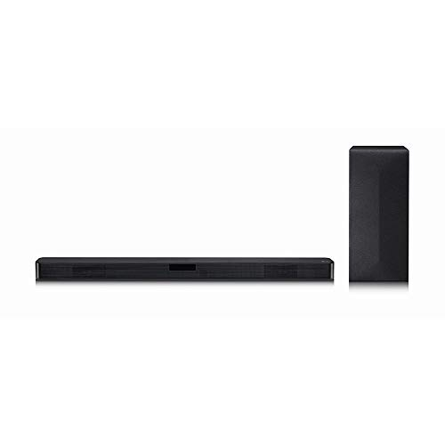 LG Sound Bar SN4-300 W RMS, DTS VIRTUAL X, Sound Sync Wireless, 2.1 CANAIS