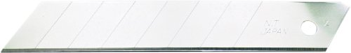 NT Cutter 18mm Heavy-Duty Snap-Off Blades, 10-Blades/Pack, 1 Pack (BL-10P)