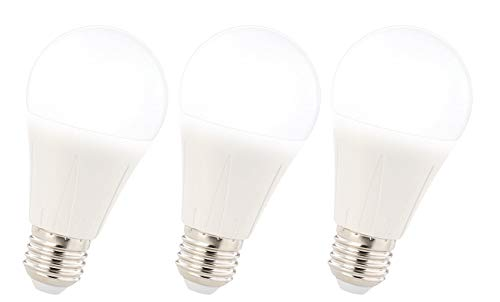 Luminea Glühbirnen E27: 3er-Set LED-Lampe E27, Klasse A+, 11 W, tageslichtweiß 6400K, 1.055 lm (Tageslicht Lampe)