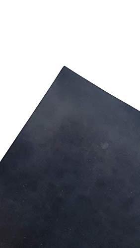 Gummimatte 1mm - Länge in 10cm (100mm) Schritten wählen - 20cm x 120cm x 1mm - Dicke: 1mm - Breite: 1200mm - Länge: 200mm