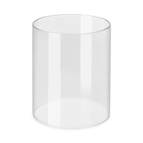Klarstein Wurstfabrik Pro cilindro de vidrio - accesorio/recambio para máquina de perritos calientes, cilindro de vidrio de Ø 20 cm, vidrio