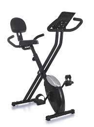 Weltbild Heimtrainer Ergometer X-Bike, klappbar schwarz 16 Widerstandsstufen einstellbar