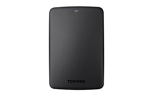 """Toshiba Canvio Basics, HDD Esterno portatile di 3TB, 2.5"""", USB 3.0, Nero"""