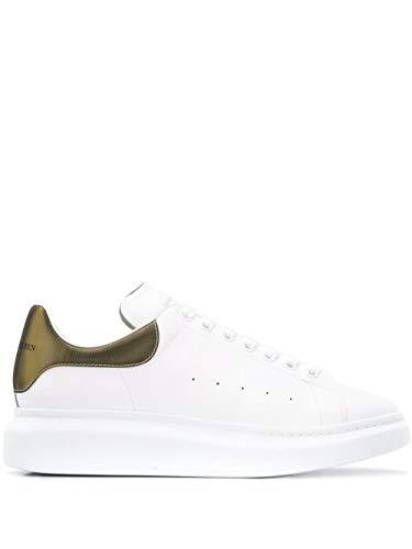 Alexander McQueen Luxury Fashion Herren 553680WHYBJ9075 Weiss Leder Sneakers | Herbst Winter 20
