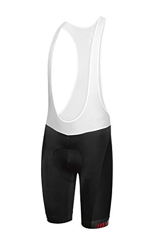 Zero RH+ Sprinter, Bibshort Bike Uomo, Black, XXL