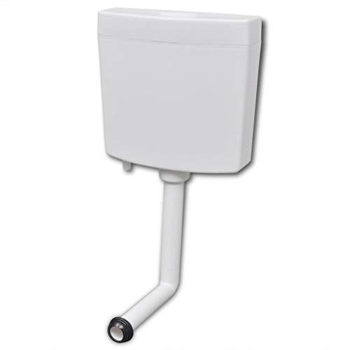 HUANGDANSP Sciacquone da Bagno da 3/6 L Bianco Articoli di ferramenta Prodotti Idraulici Ferramenta per la Riparazione di impianti Idraulici Accessori WC e Bidet Vaschette per WC