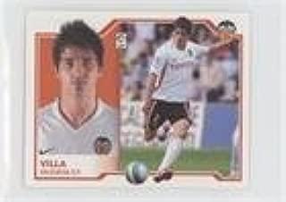 David Villa (Trading Card) 2007-08 Collecciones Este Liga BBVA (La Liga) Stickers - [Base] #DAVI