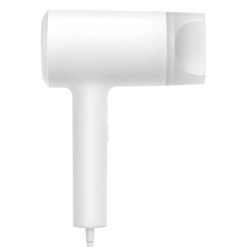 Xiaomi Mi Ionic Hair Dryer Haartrockner mit magnetischem Diffusor, 1800W leistungsstark, leicht tragbar, Ionisierungsfunktion, 3 Heizstufen, doppelter NTC Überhitzungsschutz, heiß kalt Modus (Weiß)