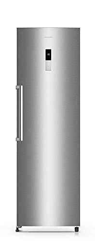 CONGELADOR VERTICAL CV-18XF8 INFINITON (A++, INOX, NO FROST, Altura 185cm, 282 Litros, Puerta reversible, Termostato regulable, Independiente)