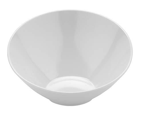 16 oz. White Cascading Bowl , Break Resistant, San Michele by GET B-788-W (Qty,1)