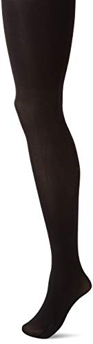 Hanes Silk Reflections Women's Hanes Blackout Tights, black, SMALL