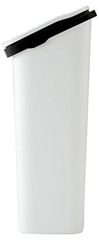 リスゴミ箱smoothプッシュダストボックス20スリム20Lメタル