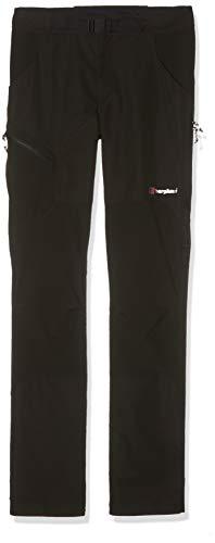 Berghaus Extrem Fast Hike Pantalon de randonnée pour Homme, Homme, 4-21819, Noir/Noir, Size 36-32