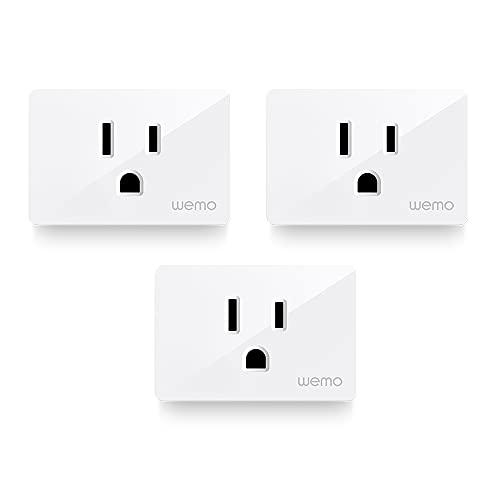 Wemo Smart Plug (Simple Setup Smart Outlet for...