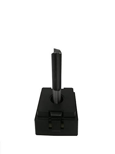 jjw-germany HW HM Oberfräser Nutfräser Z= 2 lang D= 10,0mm NL 35mm lang, mit HM - Grundschneide und 8mm Schaft