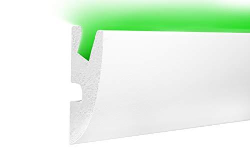 1,15 m | LED Profil | XPS | indirekte Beleuchtung | Trockenbau | lichtundurchlässig | Rigips | Tesori | 95x45mm | KD304