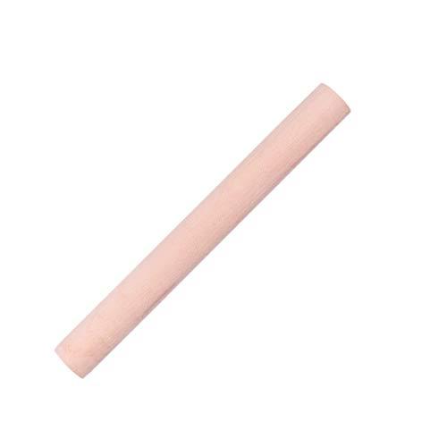Deegrollers Rolling Pin Planken Size beukenhout Dry Noodle Dumplings Dumplings Noodle Sticks Household Bakken Tools (Size : 28.2 * 2.6cm)