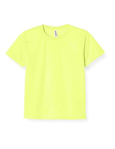 [グリマー] 半袖 4.4oz ドライTシャツ (クルーネック) 00300-ACT ネオンイエロー WM (日本サイズレディースM相当)
