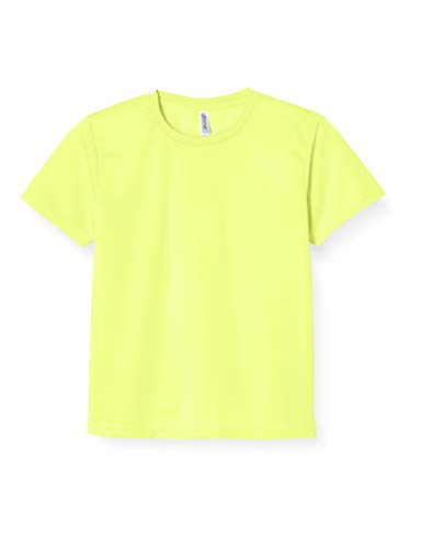 Glimmer 00300-ACT Short Sleeve 4.4 oz Dry T-Shirt (Crew Neck) - neon-yellow