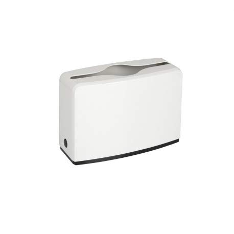 Dispensador de papel higiénico, dispensador de toallas de mano, color blanco