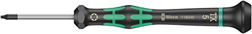 Wera 05118040001 2067 Elektroniker-TORX-Schraubendreher, TX 5 x 40 mm