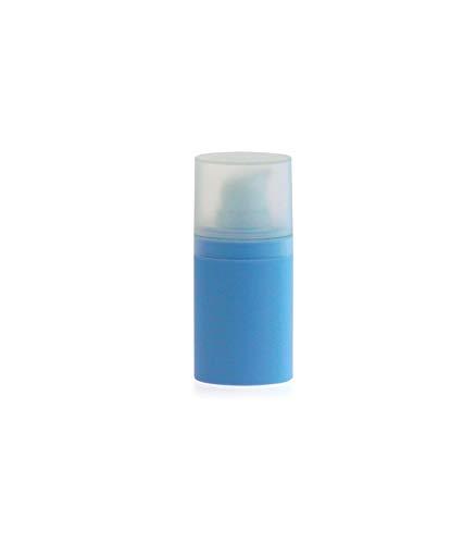 Flacon airless 15 ml bleu clair