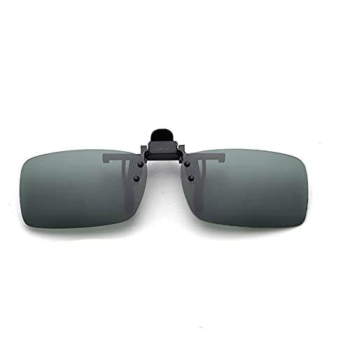CUTEY Las Gafas De Sol Sin Montura Polarizadas Se Polarizan En Gafas De Prescripción,Dark Green,40MM*62MM