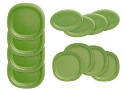 Tupperware Three-Course Plate Collection