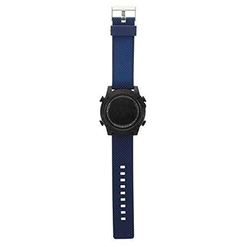 ibasenice Reloj de Pulsera Digital para Hombre Reloj Deportivo con Pantalla LED Reloj Electrónico Resistente Agua para Hombres Niños Estudiantes Azul