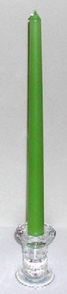 メインめまいペルセウス12インチテーパーキャンドル シャトレーゼグリーン