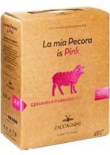 ZACCAGNINI KASAURA VINO ROSATO CERASUOLO D'ABRUZZO BAG IN BOX 3 LITRI - CONF DA 4 BOX (12 LITRI) LA MIA PECORA IS PINK