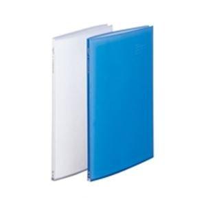 (業務用10セット) LIHITLAB クリアファイル/ポケットファイル 【B4/タテ型】 20ポケット 固定式 G3132-1 クリア