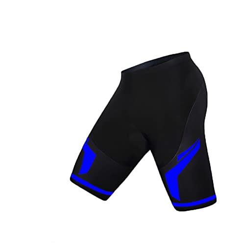 LCBYOG 5D Pantalones Cortos de Ciclismo Acolchados a Prueba de Golpes MTB Pantalones Cortos de Bicicleta Transmisión por Carretera Medias para Mujeres Ciclismo Culote (Color : Black, Size : XXL)