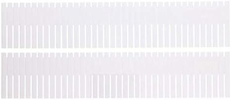 UrbanDesign 2 Schubladeneinteiler Organizer Schublade Ablage Teiler Einteilung Trenner zuschneidbar 4 x 40 cm