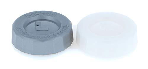 Antibakterieller Kontaktlinsenbehälter i-clean (flach) für Kontaktlinsen aller Art