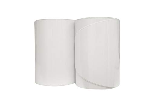 Cinta de riel de borde de SUP padboard (210 cm x 9 cm) transparente 2 rollos en un paquete