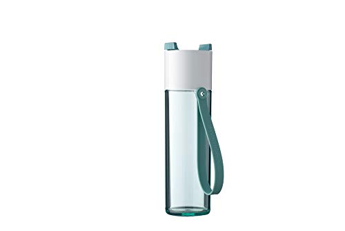 Mepal Nordic Green Trinkflasche JustWater 500 ml, ABS/PCTG, 7.2 x 6.5 x 23.3 cm