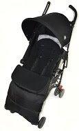 Saco/Cosy Toes Compatible con Bebecar Spot paseo negro Jack