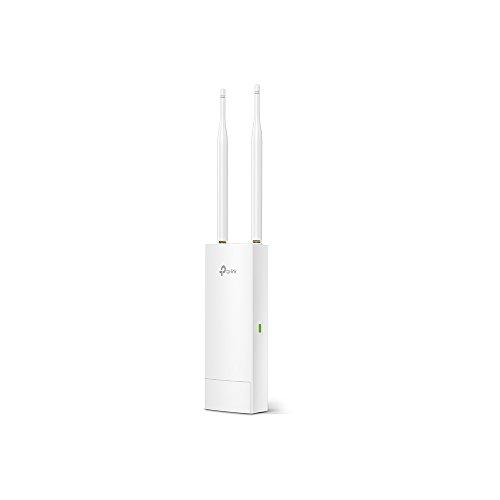 TP-Link CAP300-Outdoor Punto de Acceso de Exterior N 300Mbps,Controlador,PoE,Resistente a condiciondes Adversas meteorológicas,Modo FIT/Fat