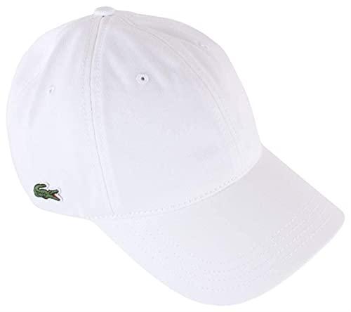 Lacoste RK4709 Gorra, Blanc, Taille Unique para Hombre