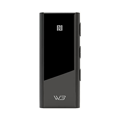 HiBy W3 Sabre USB DAC 3.5mm Draadloze Audio Hoofdtelefoon Versterker AK4377 NFC UAT APTX HD LDAC QCC5121 Bluetooth 5.0 Ingebouwde Microfoon