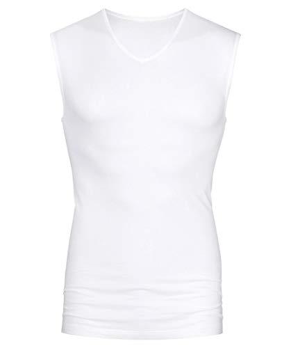 Mey Basics Serie Software Herren Shirts ohne Arm Weiß L