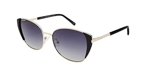 Gafas de sol marca Polar modelo BLOOM 03 de metal color plateado con lentes polarizadas gris degradado