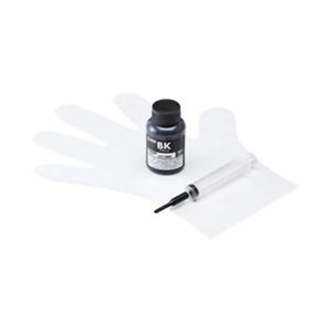 学習富速報(まとめ) サンワサプライ 詰め替えインク(ブラザー LC12BK用) INK-LC12BK60S【×3セット】 ds-1757213