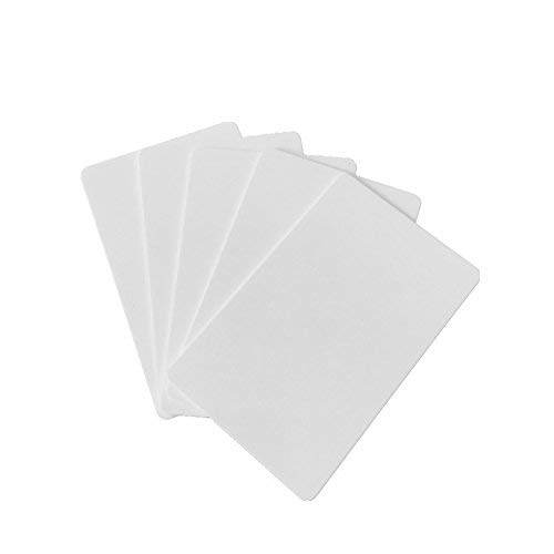ISO1443A White NFC Forum Type 4 NFC Card With 8K / 16K / 32K Memory Big Capacity NFC Card Compatible All NFC Mobile Phone Device (32k / 5pcs)
