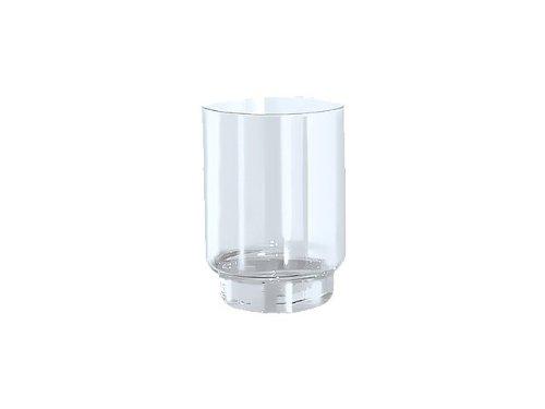 Keuco Plan Ersatzglas Acrylglas (ohne Glashalter, Durchmesser 66 mm, einfache Reinigung) 00850000100